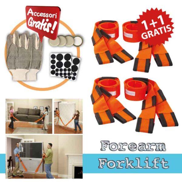 Forearm Forklift ® Cinghie per il sollevamento di oggetti pesanti