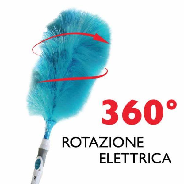 Spin Duster 360 ® Spolverino elettrico Visto in Tv 1+1 gratis