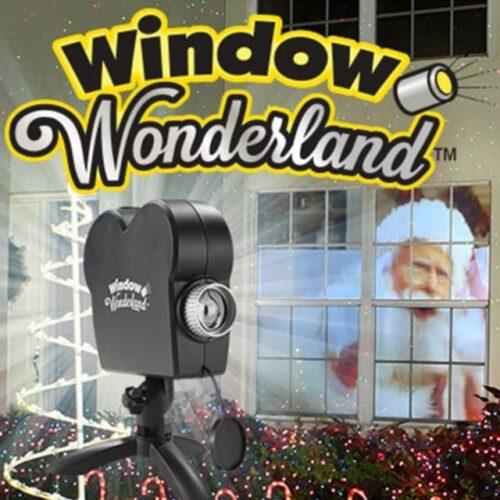 window wonderland proiettore natalizio