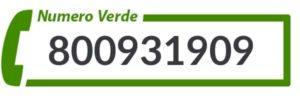 numero verde call tv
